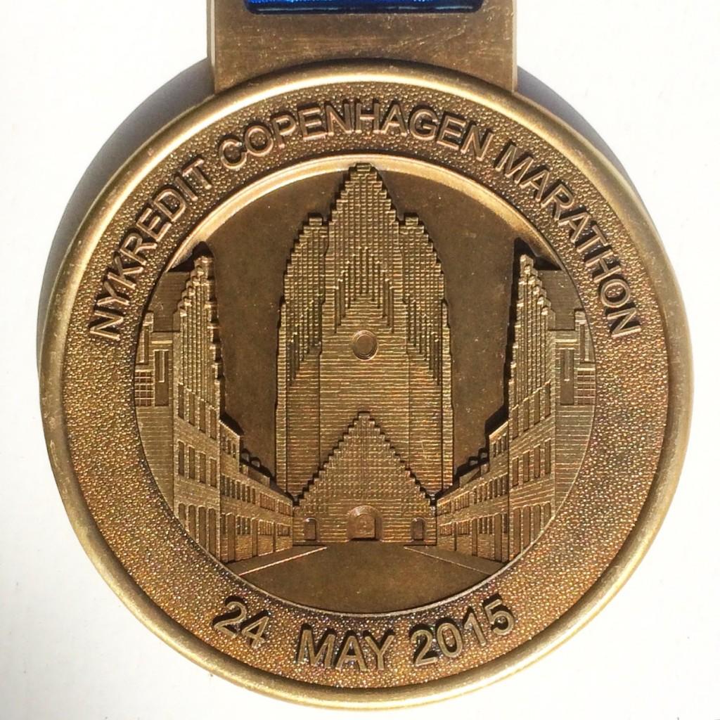 Man måste inte ha en anledning för att springa. Men en medalj skadar aldrig.